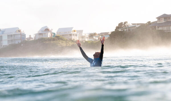 Mick Fanning (AUS) victorious, 2014 J-Bay Open.