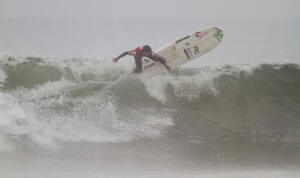 Piccolo Clemente (PER) winner of the 2015 Huanchaco Repalsa Pro.