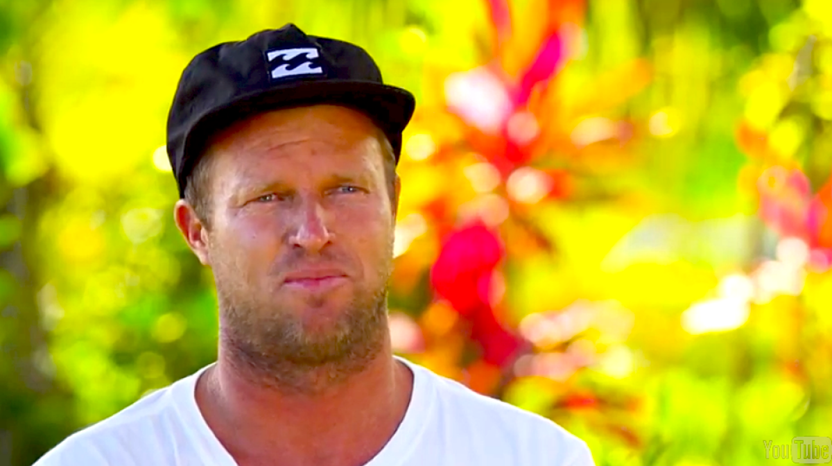 Taj Burrow - 2014 Billabong Pro WT interview