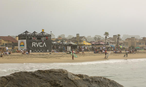 For the first time in its illustrious history, RVCA led the way as the main sponsor of the inaugural RVCA Pro Junior presented by Jack's Surfboards at the 56th Street Jetty in Newport Beach, CA. Two days of high-performance surfing from some of the best talent under 20 years old in fun conditions and you're left with a great contest. WSL/ Isaacs