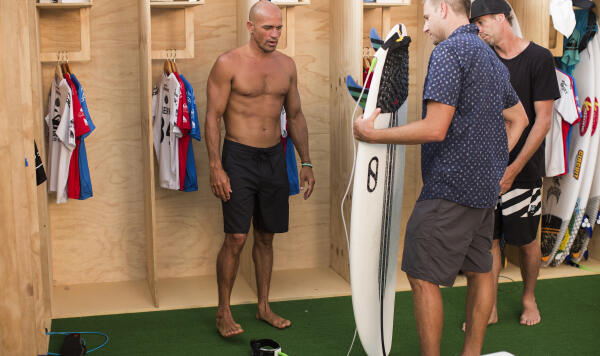 With his recent partnership with Firewire, everyone wants to see Kelly Slater's new quiver.