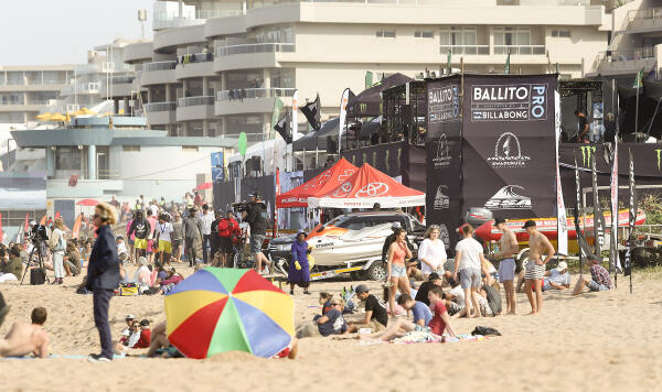 Excellent conditions for rounds three and four of the Ballito Pro Presented by Billabong.