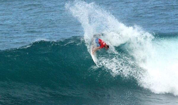 Parker Coffin, winner of the Sprite Soup Bowl Pro Junior