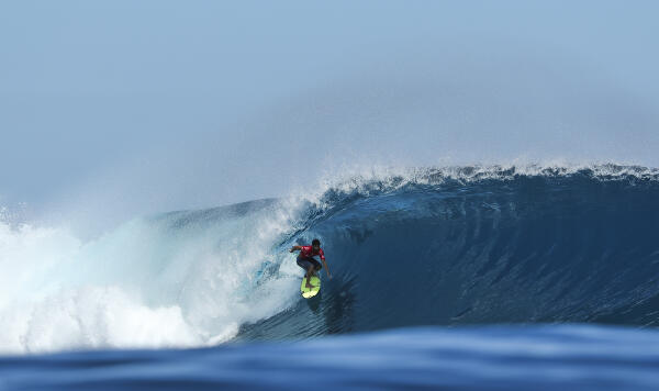 Italo Ferreira placed second in Heat 7 of Round Three.