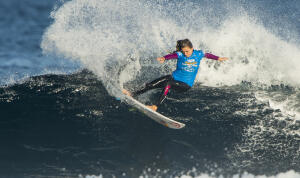 Blanchard had a strong round two heat win defeating Silvanna Lima of Brazil.