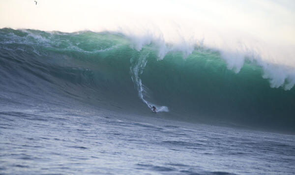 Brad Gerlach towed into this Todos beast to win the XXL Big Wave Awards in 2006