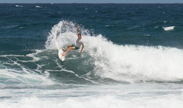 Chauncey Robinson (USA) earning fourth-place in the Soup Bowl Pro Junior