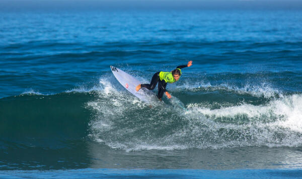 Faye Zoetmulder at the inaugural Cape Town Pro, Day 2.