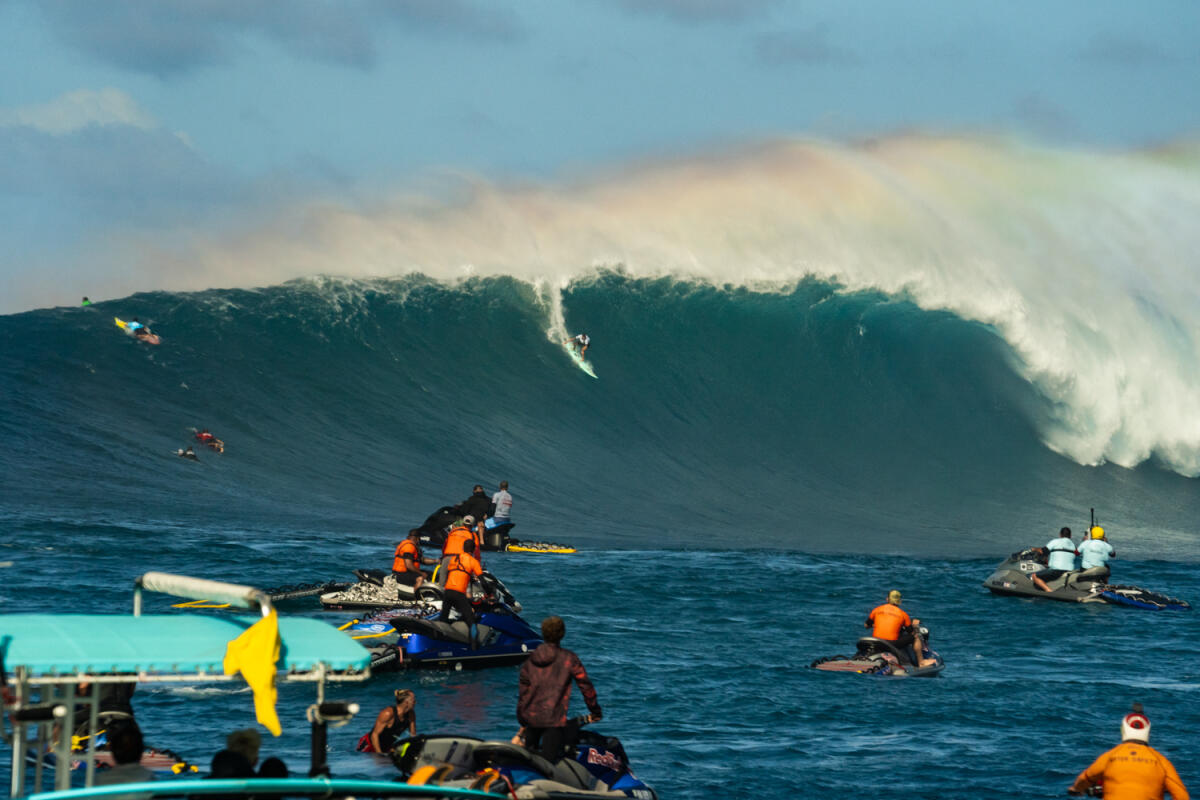 2020 Biggest Paddle Entry: Ian Walsh at Jaws 1