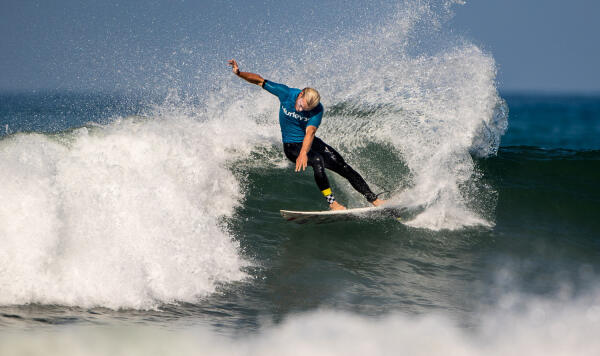Tanner Gudauskus took top honors in the hotly contested locals division of the Hurley Trials. Photo: Jack McDaniel/amsurfnews.com