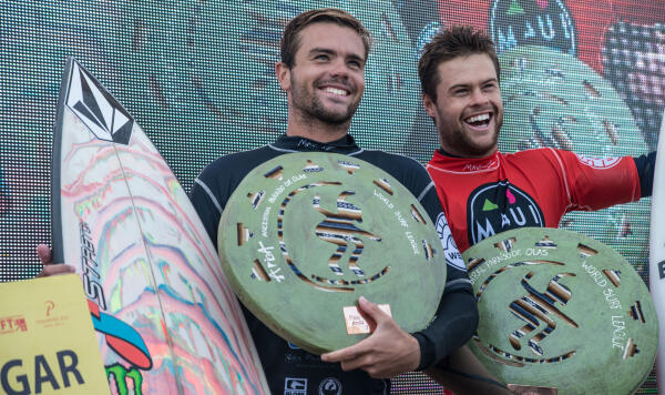 William Aliotti and Dean Bowen - Maui and Sons Arica Pro Tour
