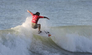 Miluska Tello at the Rip Curl Pro Junior Series in Argentina.