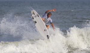 Santiago Muniz finished runner up at the 2014 Oceano Santa Catarina Pro