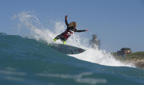 Emma Smith was in top form throughout the Billabong Pro Junior Series finale.