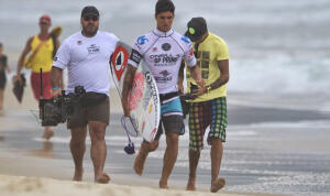 Gabriel Medina (BRA) was eliminated in Round 4.
